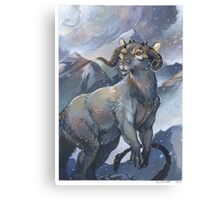 tauntaun - monarch of hoth Canvas Print