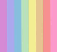 Pastel Pride Flag by linked-pinkies