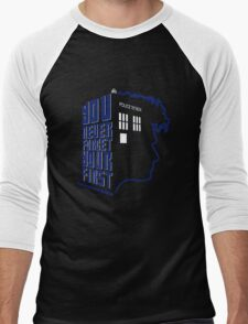 You Never Forget Your First - Doctor Who 10 David Tennant Men's Baseball ¾ T-Shirt