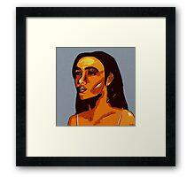 Melanin (Abstract) Framed Print