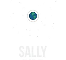 Sally Ride - Clothing & Other Products by Hydrogene