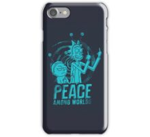 Rick and Morty - Peace Among Worlds iPhone Case/Skin