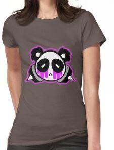 panda kawaii pastel gore Womens Fitted T-Shirt