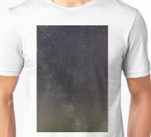 Milky Way and Stars Unisex T-Shirt