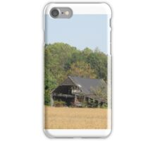 Building In Open Field iPhone Case/Skin