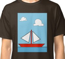 The Simpson's sailboat painting Classic T-Shirt