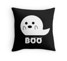 Boo Ghost Throw Pillow