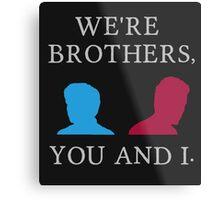 Mutant Brothers Metal Print