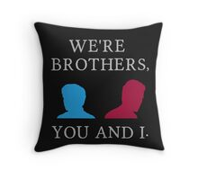 Mutant Brothers Throw Pillow