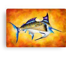 Marlinissos V1 - violinfish Canvas Print
