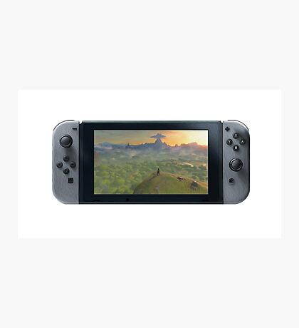 Nintendo Switch Controller (Oil Paint Edition) Photographic Print