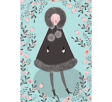 WINTER GIRL Photographic Print