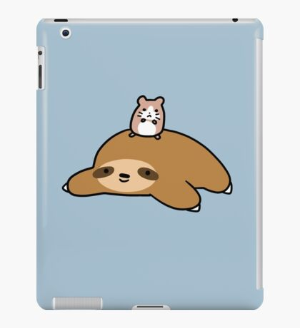 Sloth and Hamster iPad Case/Skin