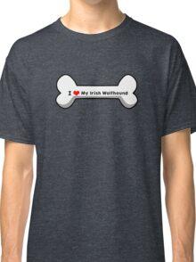 I Love My Irish Wolfhound Classic T-Shirt