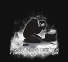 Alan Wake 'I can't going like this....' - black version by Emme Gray