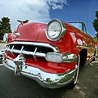 1954 Chevy Bel Air Convertible by mal-photography