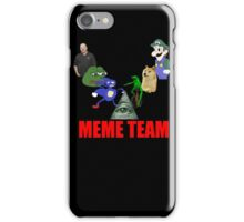 Meme Team iPhone Case/Skin