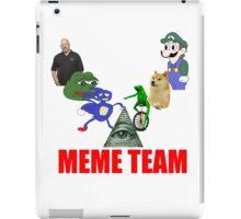 Meme Team iPad Case/Skin
