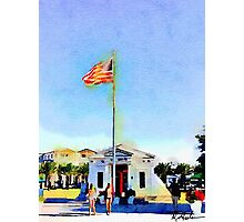 Sea Side Florida Post Office 30a Photographic Print