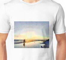 Walking on Seaside 30A  Unisex T-Shirt