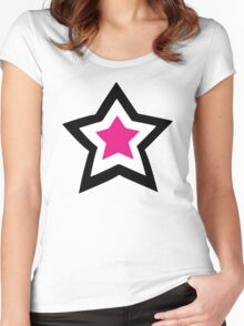 Anime Manga Shirt Women's Fitted Scoop T-Shirt