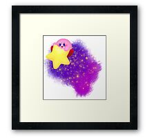 Space Kirby Framed Print