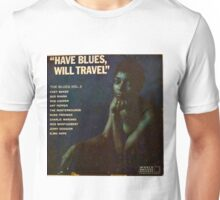 Have Blues Will Travel, Vintage Jazz lp cover Unisex T-Shirt