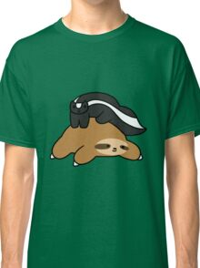 Sloth and Skunk Classic T-Shirt