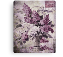 Lilacs Of Yesteryear Canvas Print