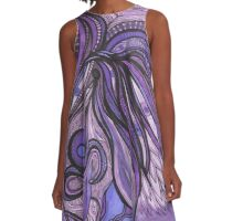 Classical Pisces Transmission A-Line Dress