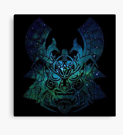 Space Samurai  Canvas Print