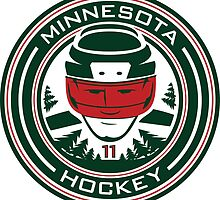 Minnesota Hockey #11 by pcstuff