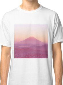 Mountain Sunset Classic T-Shirt