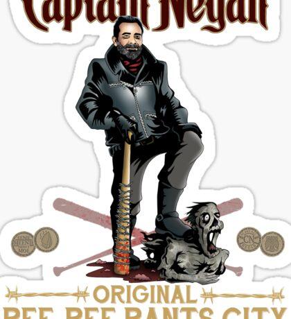 Negan Rum Sticker