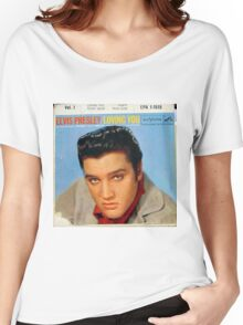 Elvis Presley Loving You Vol. 1 EP cover Women's Relaxed Fit T-Shirt
