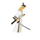 Samurai Jack (Gray) by Chris Johnson