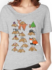 Sloths and Animals! Women's Relaxed Fit T-Shirt