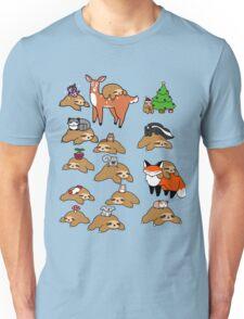 Sloths and Animals! Unisex T-Shirt