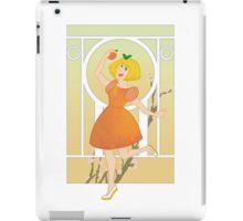 Art Nouveau Peach Girl iPad Case/Skin