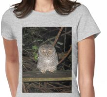 dearie!... what's wrong you look like you've seen a ghost!! Womens Fitted T-Shirt