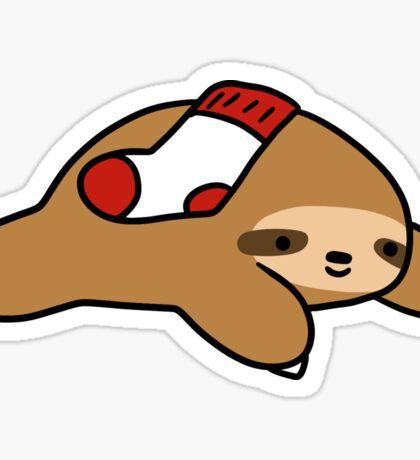 Sock Sloth Sticker