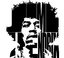 Hendrix II Photographic Print