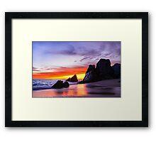 Secret Baja Framed Print