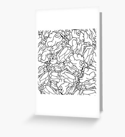 Fifty shades of Love (Light) Greeting Card