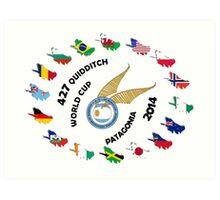 2014 Quidditch World Cup Art Print