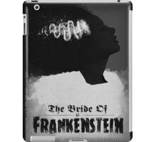 Bride of Frankenstein Poster iPad Case/Skin