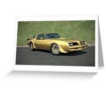 1970's Pontiac Firebird - Gran Turismo Greeting Card
