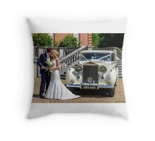 Our Eldest Daughter's Wedding Day  Throw Pillow