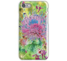 Psychedelic Flower Explosion iPhone Case/Skin