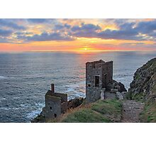 Crown Mines - Botallack, Cornwall. Photographic Print